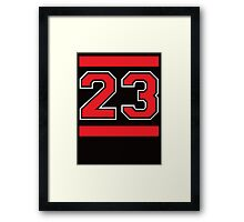 BASKETBALL ROYALTY Framed Print