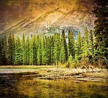Spring in Banff by KymiesArt