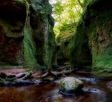 The Devil's Pulpit At Finnich Glen by Jeremy Lavender Photography