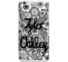 Tyler Oakley Floral iPhone Case/Skin