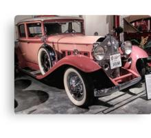Pink Packard Canvas Print