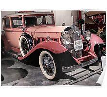 Pink Packard Poster
