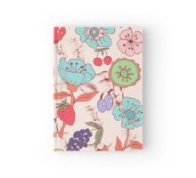 Kitchen, Fruits, Flower,  Hardcover Journal