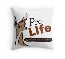 Support Life Throw Pillow
