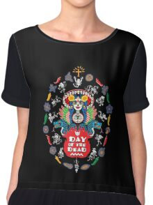 Day of the Dead! Chiffon Top