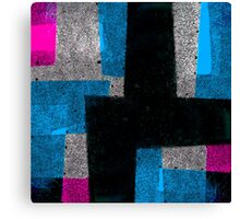Abstract Tiles Canvas Print