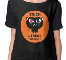 Trick or Treat, your choice.... Chiffon Top