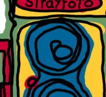 Bold and Colorful Camera Design Sticker