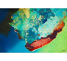 Color Abstraction LXXVI Photographic Print
