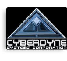 The Terminator Cyberdyne logo Canvas Print