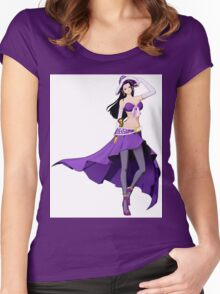 party nico Women's Fitted Scoop T-Shirt
