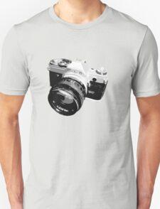 Black and White 35mm SLR Design Unisex T-Shirt