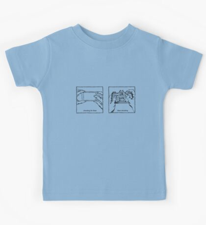 Likes Shooting (black ink for light background) Kids Tee