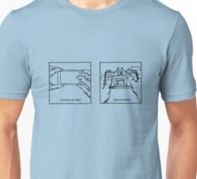 Likes Shooting (black ink for light background) Unisex T-Shirt