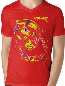ROSSI 46 Mens V-Neck T-Shirt
