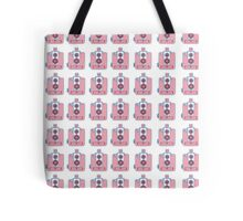 Vintage Rose Camera Design Tote Bag