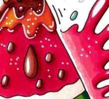Watermelon popsicle Sticker