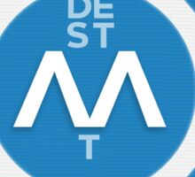 De Staat - O and AA Sticker