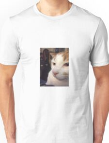 Stop looking at me like that Unisex T-Shirt