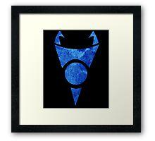 Irken symbol Framed Print