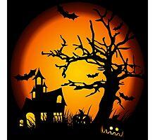 Night Halloween Photographic Print