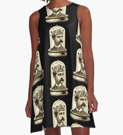 Clockwork Brain - Steampunk Fashion A-Line Dress