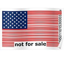 America -  Not For Sale Poster