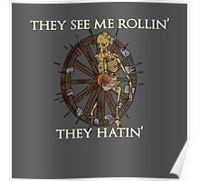 Browheel Rollin' Poster