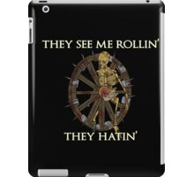 Browheel Rollin' iPad Case/Skin