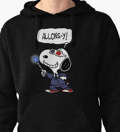 Allons-y! Pullover Hoodie