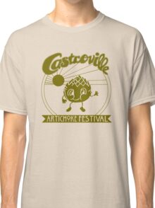 The Original CASTROVILLE ARTICHOKE FESTIVAL - Dustin's shirt in Stranger Things Classic T-Shirt