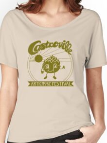 The Original CASTROVILLE ARTICHOKE FESTIVAL - Dustin's shirt in Stranger Things Women's Relaxed Fit T-Shirt