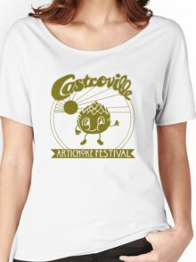 The Original CASTROVILLE ARTICHOKE FESTIVAL - Dustin's shirt in Stranger Things Women's Relaxed Fit T-Shirt
