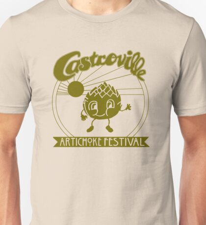 The Original CASTROVILLE ARTICHOKE FESTIVAL - Dustin's shirt in Stranger Things Unisex T-Shirt