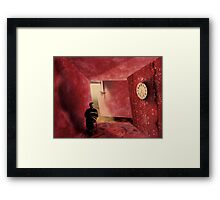 Quiet Time: At 10:20 we will take the restrains off  Framed Print