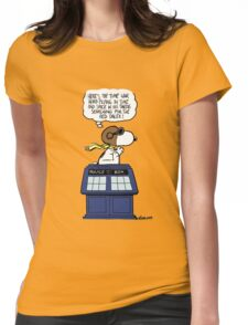 The time war hero Womens Fitted T-Shirt