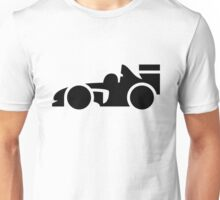Fast Racing Car Icon Unisex T-Shirt