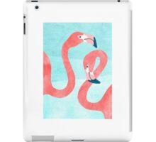 Whimsical Flamingo Couple iPad Case/Skin