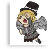 Chibi Steampunk Angel Canvas Print