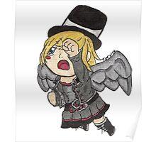 Chibi Steampunk Angel Poster