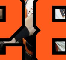 Buster Posey Number 28 Sticker
