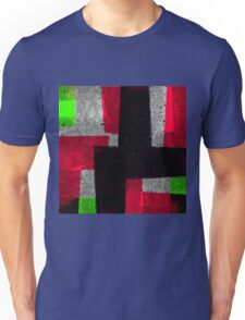 Abstract Tiles Unisex T-Shirt