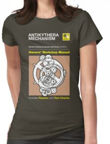 Owners' Manual - Antikythera Mechanism - T-shirt Womens Fitted T-Shirt