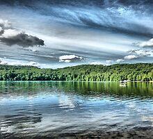 A Day at the Lake by Ed Warick