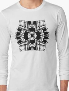 Turtle Shield of Spiking Long Sleeve T-Shirt