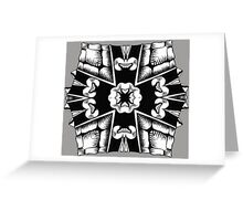 Turtle Shield of Spiking Greeting Card