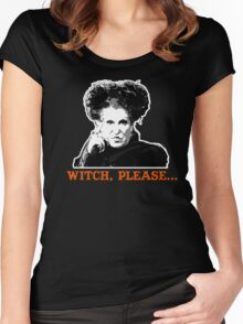 Hocus Pocus Bette Midler: Witch, Please... Women's Fitted Scoop T-Shirt