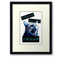 Pussies Against Trump Impact Framed Print