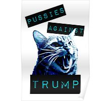 Pussies Against Trump Impact Poster