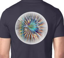 Hyperspace, Corridor, Worm Hole, Dimension, Cosmic, Cosmos, Universe, Space, Time Unisex T-Shirt